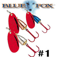 Blue Fox Vibrax Classic Bleeding #1 (BFRH1)