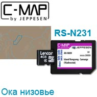 Карта C-MAP Lowrance RS-N231