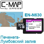 Карта C-MAP Lowrance EN-N630