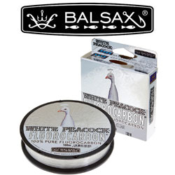 Balsax White Peacock Fluorocarbon 100м