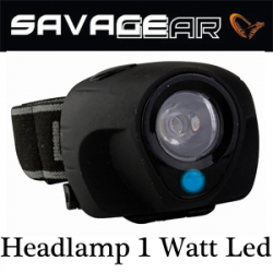 Savage Gear Headlamp 1 Watt Led