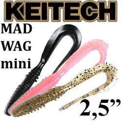 Keitech Mad Wag Mini 2.5""