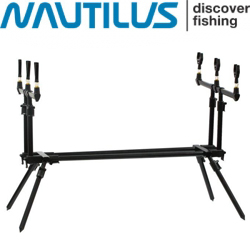Nautilus Black Spider Rod Pod
