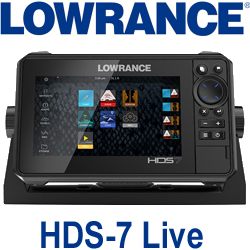 Lowrance HDS-7 Live ROW GPS Plotter without Transducer (000-14418-001)