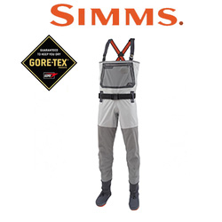 Simms G3 Guide Stockingfoot Cinder