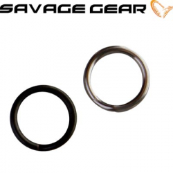 Savagear Stainless Splitring Forged