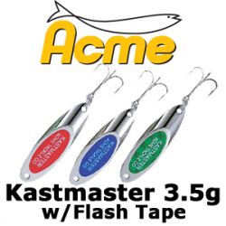 Acme Kastmaster w/Flash Tape 3.5гр.