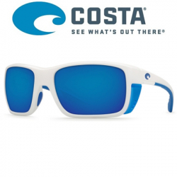 Costa Rooster 580 P White/Blue Mirror