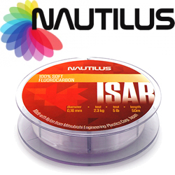 Nautilus Isar Fluorocarbon Clear 50м