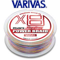 Varivas Avani Jigging Power Braid PE x8 200m