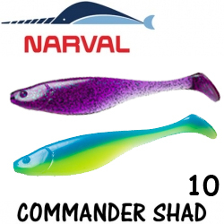 Narval Commander Shad 10cm