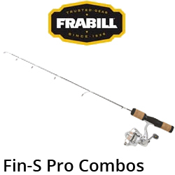 Frabill Fin-S Pro Combos (удочка + катушка)