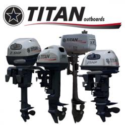 лодочные двигатели титан