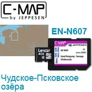 Карта C-MAP Lowrance EN-N607