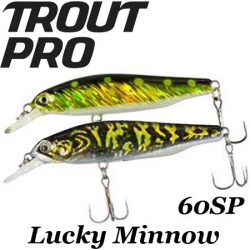 Trout Pro Lucky Minnow 60SP