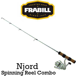 Frabill Njord Spinning Reel Combo (удочка + катушка)