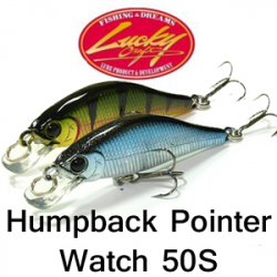 Lucky Craft Humpback Pointer Watch 50S