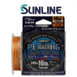 Sunline Saltwater Special PE Jigger 8HG 200m