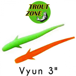 Trout Zone Vyun 3""