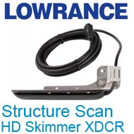 Lowrance Structure Scan HD Skimmer XDCR