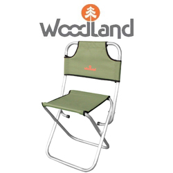 Woodland Camp Stool ALU MAX