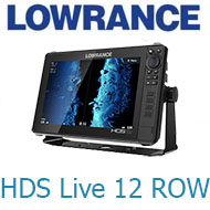 Lowrance HDS Live 12 ROW with No Transducer (000-14430-001)