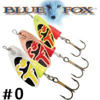 Blue Fox Vibrax Bullet #0 (VB0)