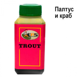Аттрактант ERS Trout T7 HALIBUT & CRAB (ПАЛТУС И КРАБ)