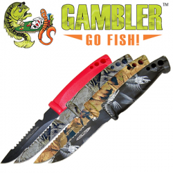 Gambler Evolution Bait Knife/Utility Knife 4''