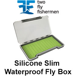 TFF Silicone Slim Waterproof Fly Box