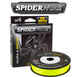 Spiderwire Dura 4 Yellow 300m