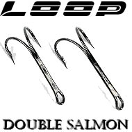 Loop Black Nickel Double Salmon