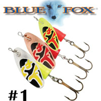 Blue Fox Vibrax Bullet #1 (VB1)