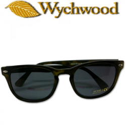 56fb6b0e01 Wychwood Wayfarer Shell Sunglasses Green
