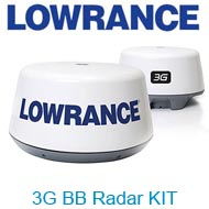 Lowrance 3G BB Radar KIT (Row)