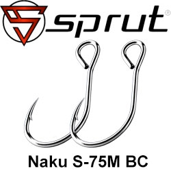 Sprut Naku S-75M BC (Single Parallel Ring Bait Hook)