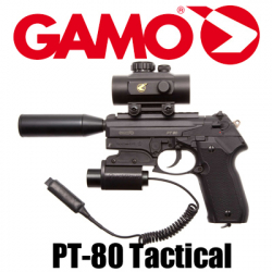 Gamo PT-80 Tactical, кал.4,5 мм
