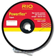 Типпет RIO Powerflex@Tippet Spools 30yd 27.4m 0,009 in 0,229mm