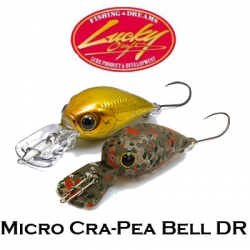 Lucky Craft Micro Cra-Pea Bell DR