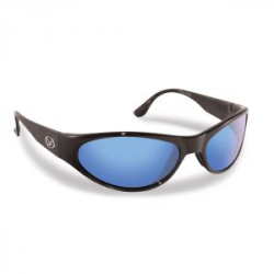 Очки Fly Fish 7395BS Mirage, Matte Black, Smoke/Blue Mirror
