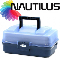 Nautilus 143 Tackle Box 2-tray
