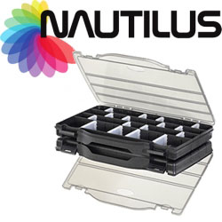 Nautilus 396 Double Side Slim Tackle Box
