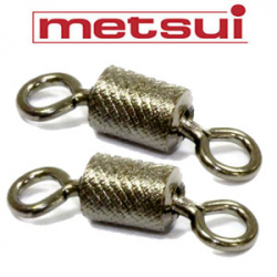Metsui Rolling Swivel X-Pattern Round Eye