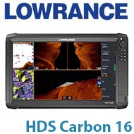 Lowrance HDS Carbon 16 - No Transducer