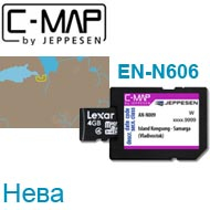 Карта C-MAP Lowrance EN-N606