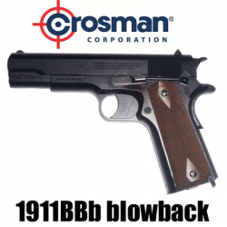 Crosman 1911BBb blowback