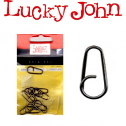 Lucky John Bent Head Oval Split Ring