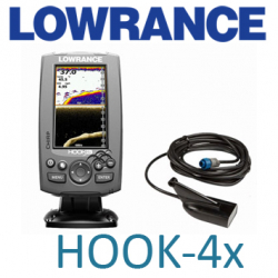 Lowrance Hook-4x Mid/High/DownScan (000-12641-001)