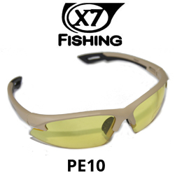 X7 Fishing модель PE10 Yellow-RED-Brown