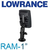"Lowrance RAM 1"" Mark/Elite 4&5"